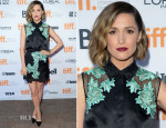 Rose Byrne In 31 Phillip Lim - 'Adult Beginners' Toronto Film Festival Premiere