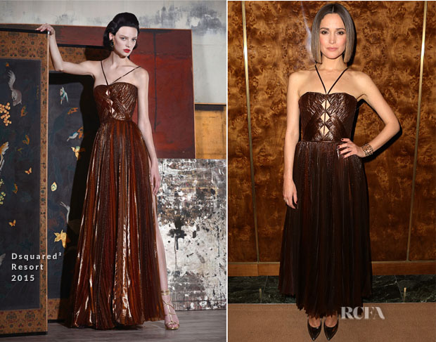 Rose Byrne In Dsquared² - 'You Can't Take It With You' Opening Night