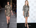 Rosie Huntington Whiteley In Isabel Marant -  Stuart Weitzman Cocktail Party
