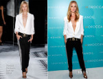 Rosie Huntington-Whiteley In Versus Versace - Moroccanoil Inspired by Women Campaign Launch Event