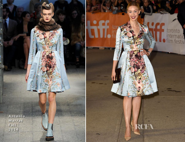 Sarah Gadon In  Antonio Marras - 'Maps To The Stars' Toronto Film Festival Premiere