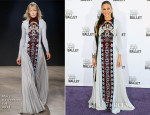 Sarah Jessica Parker In Mary Katrantzou - New York City Ballet 2014 Fall Gala