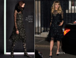 Suki Waterhouse In Louis Vuitton - Downing Street London Fashion Week Reception