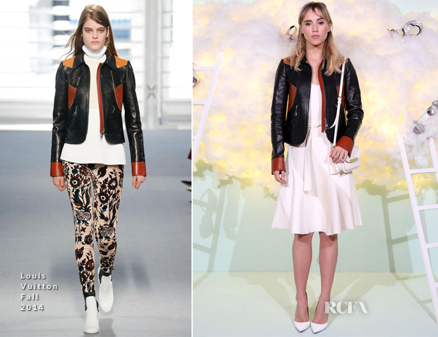 Suki Waterhouse In Louis Vuitton - Harrods Shoe Heaven Launch Party