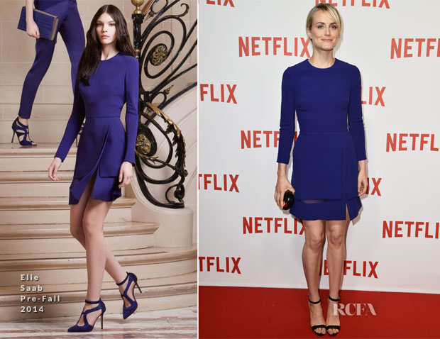 Taylor Schilling In Elie Saab - 'Netflix' Launch Party