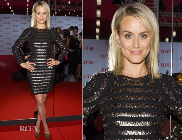 Taylor Schilling In Sachin & Babi - Netflix Pre-Launch Party