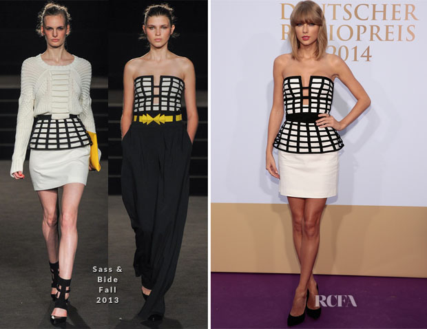 Taylor Swift In Sass & Bide - Deutscher Radiopreis 2014