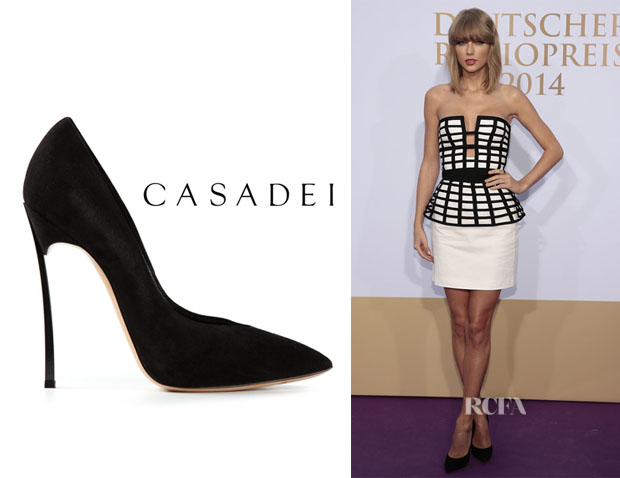 Taylor Swift's Casadei Stiletto Pumps