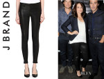 Tina Fey's J Brand Super-Skinny Leather Leggings