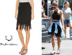 Vanessa Hudgens' For Love & Lemons 'Bandit' Pencil Skirt