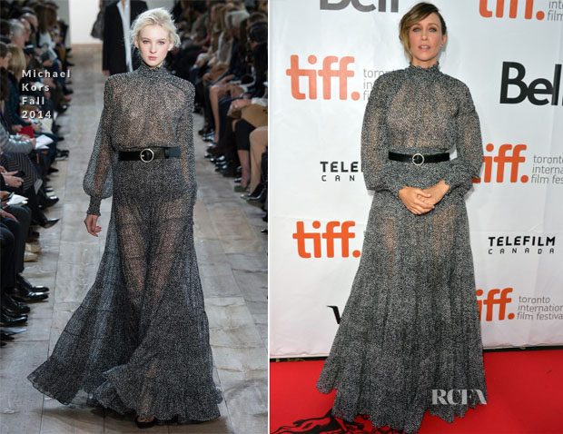 Vera Farmiga In Michael Kors - 'The Judge' Toronto Film Festival Premiere