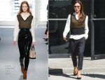 Victoria Beckham In Louis Vuitton - Out In New York City