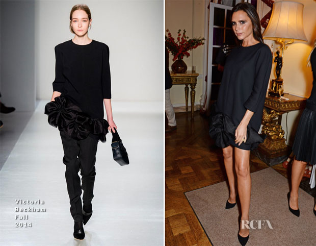 Victoria Beckham In Victoria Beckham - London Fashion Week Party