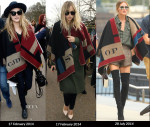 Who Wore Burberry Prorsum Better...Cara Delevingne, Suki Waterhouse, Olivia Palermo, Rosie Huntington-Whiteley or Sarah Jessica Parker