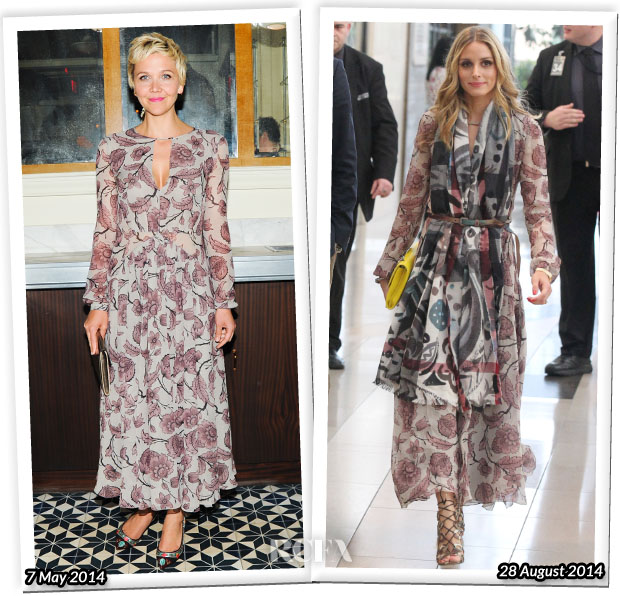 Who Wore Burberry Prorsum Better...Maggie Gyllenhaal or Olivia Palermo?