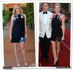 Who Wore Christopher Kane Better...Diane Kruger or Lara Stone?