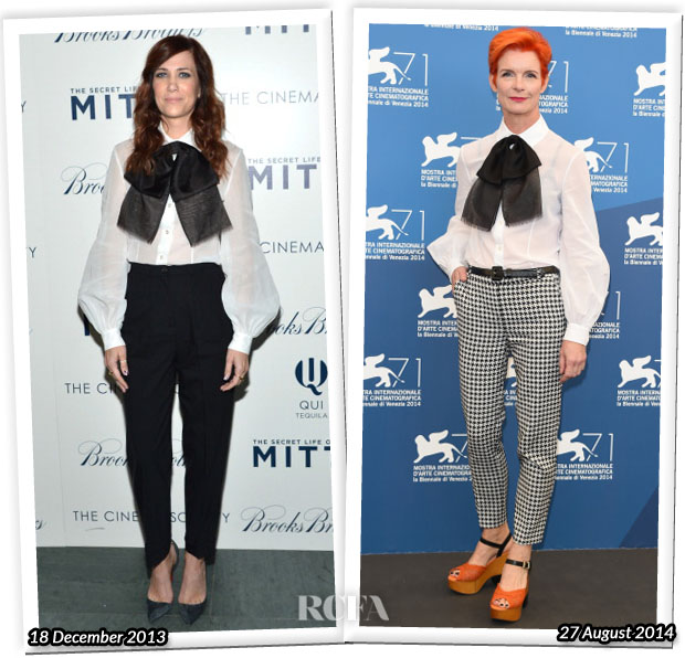 Who Wore Michael Kors Better Kristen Wiig or Sandy Powell