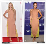 Who Wore Wes Gordon Better...Lindsay Ellingson or Ashley Madekwe?