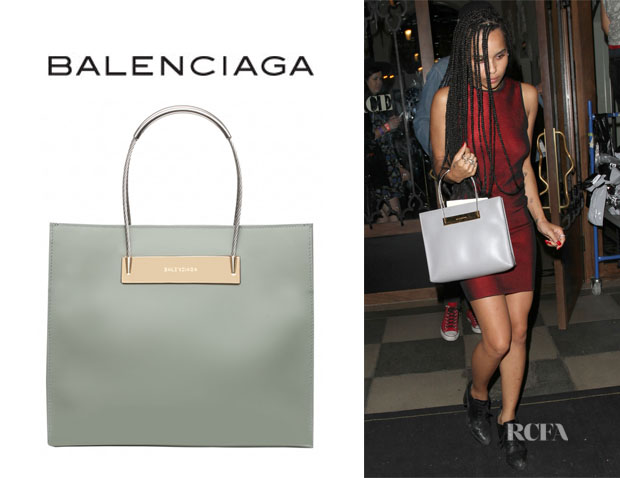 Zoe Kravitz' Balenciaga 'Cable' Shopper
