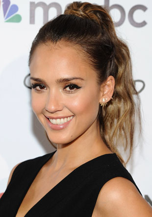 Get The Look: Jessica Alba's Global Citizen Festival Hair & Makeup