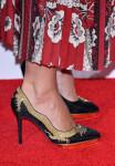 Keira Knightley's Charlotte Olympia Auspicious Debbie Dragon pumps