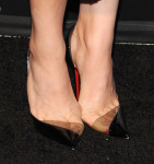 Chloe Grace Moretz's Christian Louboutin Miss Rigidaine pumps