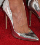 Hilary Swank's Gianvito Rossi 'Ellipsis' pumps