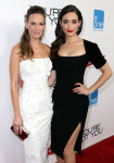 Hilary Swank in Nicholas Oakwell Couture Emmy Rossum in Altuzarra
