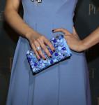 Dianna Agron's Prada clutch