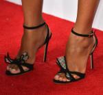 Zoe Saldana's Kurt Geiger 'Maia' sandals