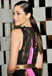 Get The Look: Emmy Rossum's 'Gala in the Garden' Sleek Parisian Ponytail