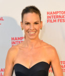 Hilary Swank in Delpozo