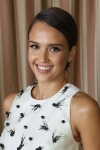 Jessica Alba in Lela Rose