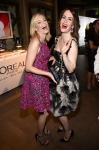Elizabeth Banks in Michael Kors and Sarah Paulson in Oscar de la Renta