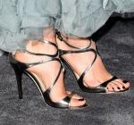 Nikki Reed's Jimmy Choo heels.