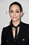 Emmy Rossum in Versace