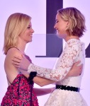 Elizabeth Banks in Michael Kors and Jennifer Lawrence in Oscar de la Renta