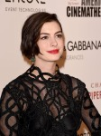 Anne Hathaway in Christopher Kane