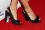 Sienna Miller's peep-toe heels
