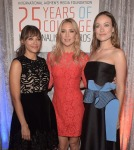 Rashida Jones in Erdem, Kate Hudson in Temperley London and Olivia Wilde in Roksanda