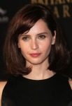 Felicity Jones in Christopher Kane