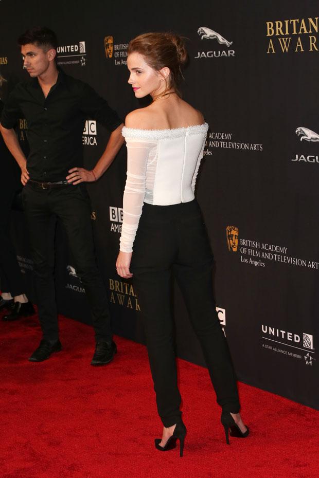 Emma Watson Bafta Los Angeles Jaguar Britannia Awards