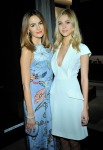 Camilla Belle and Nicola Peltz in Gucci