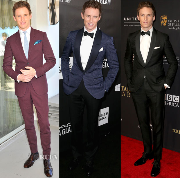A Week In Eddie Redmayne's Closet
