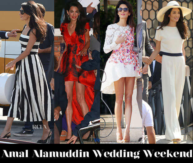 Amal Alamuddin Wedding Weekend