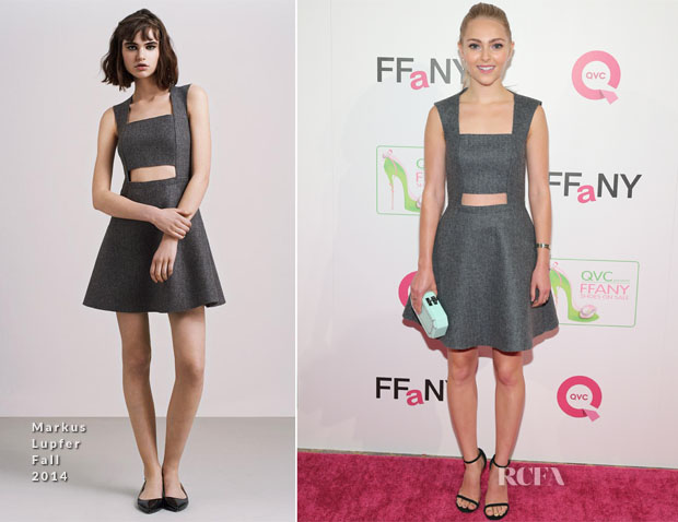 AnnaSophia Robb In Markus Lupfer - FFANY Shoes on Sale Event