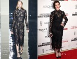 Anne Hathaway In Christopher Kane - American Cinematheque 28th Annual Award Presentation To Matthew McConaughey