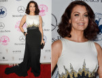 Bellamy Young In Pamella Roland - 2014 Carousel of Hope Ball