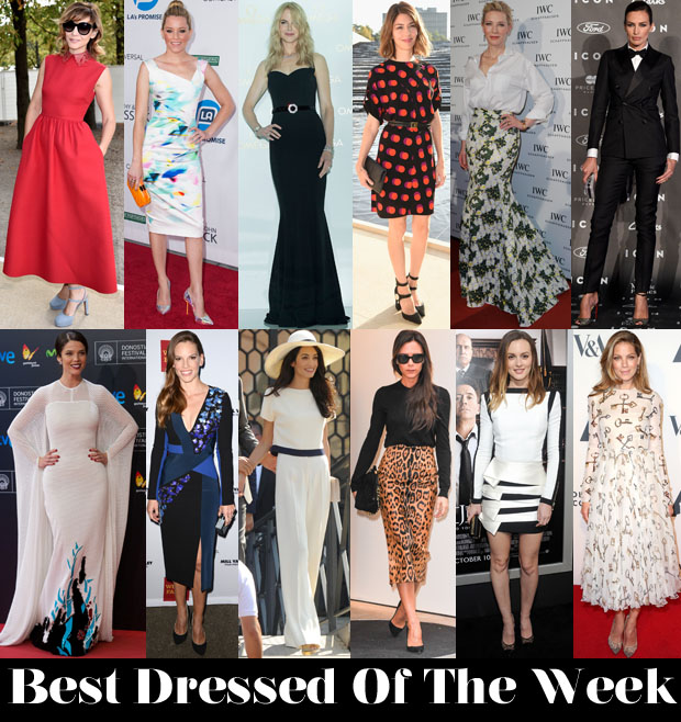 Best Dressed 3 October 2014