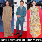 Best Dressed Of The Week - Keira Knightley In Valentino Couture, Kaitlyn Dever In Andrew Gn & James Marsden In Thom Sweeney